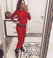 Женский вязанный спортивный костюм