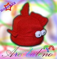 Детская шапка оптом Рыбка