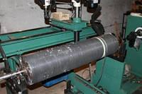 Балансировка вала текстильного оборудования.
