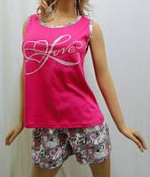 Пижама шорты с майкой хлопок, Харьков 42-54 размеры