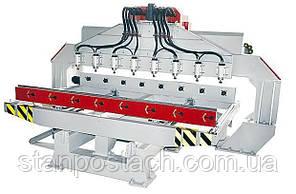 Многошпиндельный фрезерно - гравировальный станок ZENITECH RJ2512