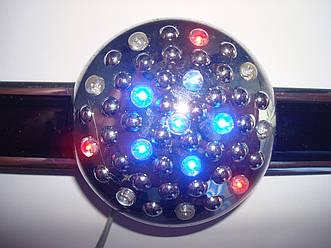 Антистатик автомобильный с диодной подсветкой 12V  TS-358