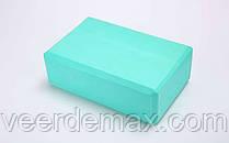 Йога-блок FI-5951 (EVA 100гр, р-р 23 x 15,5 x 8см, цвета в ассортименте) Одесса