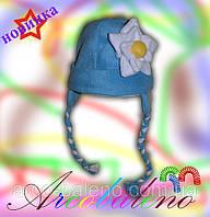 Зимняя шапка *Лилия*