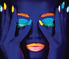Светящийся порошок люминофор в стеклянных баночках, 3 цвета по 10 гр., фото 7