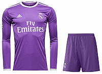 Футбольная форма Реал Мадрид с длинным рукавом 2016-2017 Выездная размер XL