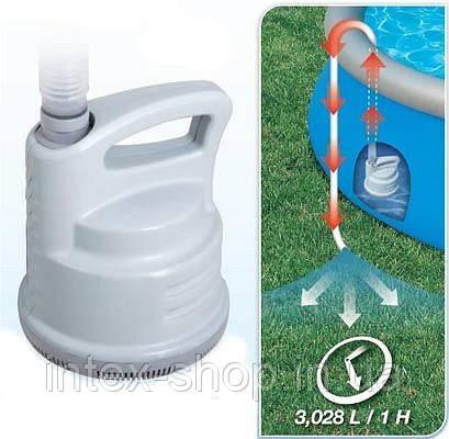 Насос для полной откачки воды из бассейна, Bestway, арт.58230