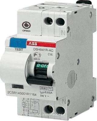 Диференціальний автомат DS951 AC-С32/0,03 A