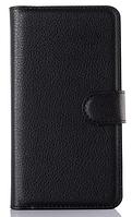 Кожаный чехол-книжка для Lenovo Vibe P1m черный