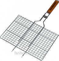 Решетка-гриль барбекю Stenson MH-0162 плоская средняя (59х40х30)