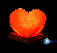 Соляная лампа Сердце Алое