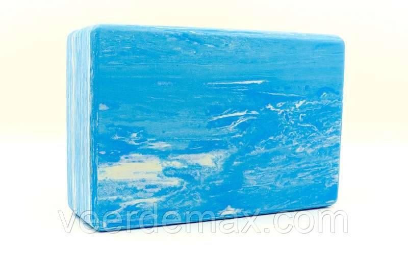 Йога-блок (блок для йоги) Multicolor 23x15x7,5см: 3 цвета, Одесса