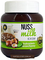 Шоколадная паста (крем) шоколадная с орехом  NUSS MILK krem Польша 400г
