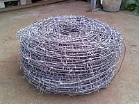 Проволока колючая одноосновная 2,8 мм диаметром