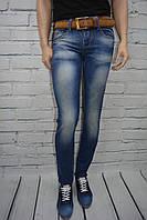 Молодежные джинсы мужские Турция Takeshy Kurosawa 080-257 синие с потертостями размер 28, 29, 30