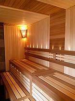 Вагонка кедр канадский для сауны, фото 2