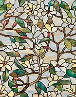 Витражная пленка Магнолия - Magnolia, 61х91см , фото 1