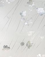 Витражная пленка Серебряная Роза - Silver Rose, 61х91см