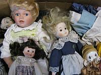 Куклы фарфоровые секонд хенд оптом