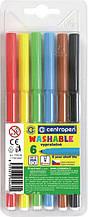 Фломастеры Centropen 7790/06 ТП, набор 6 цветов