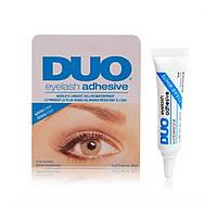 Клей для вій DUO білий(прозорий)