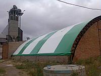 Металло тентовые конструкции для зернохранилища