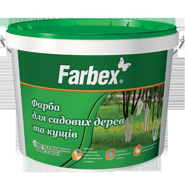 Краска для садовых деревьев и кустов Farbex 7 кг