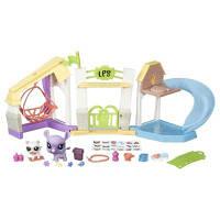 Hasbro Littlest Pet Shop Игровой набор Литл Пет Шоп Городские ворота/Парк отдыха для зверюшек