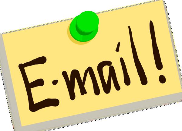 Внимание! Изменился Email.
