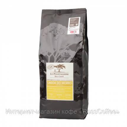 Кофе в зернах Le Piantagioni del Caffe Brazil Lagoa do Morro 1 кг, фото 2