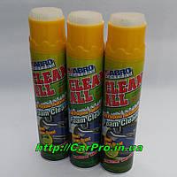 Очиститель салона пенный универсальный запах лайма с щеткой Abro FC-650 650мл.