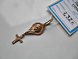 Иконка-КРЕСТИК Золото 583 пробы - 1.32 грамма, фото 7