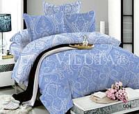 Семейное постельное белье Вилюта поплин Дамаск  004 с двумя пододеяльниками