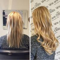 Наращивание волос - акция - специальное предложение