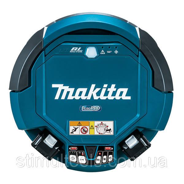 Аккумуляторный робот-уборщик Makita DRC200Z