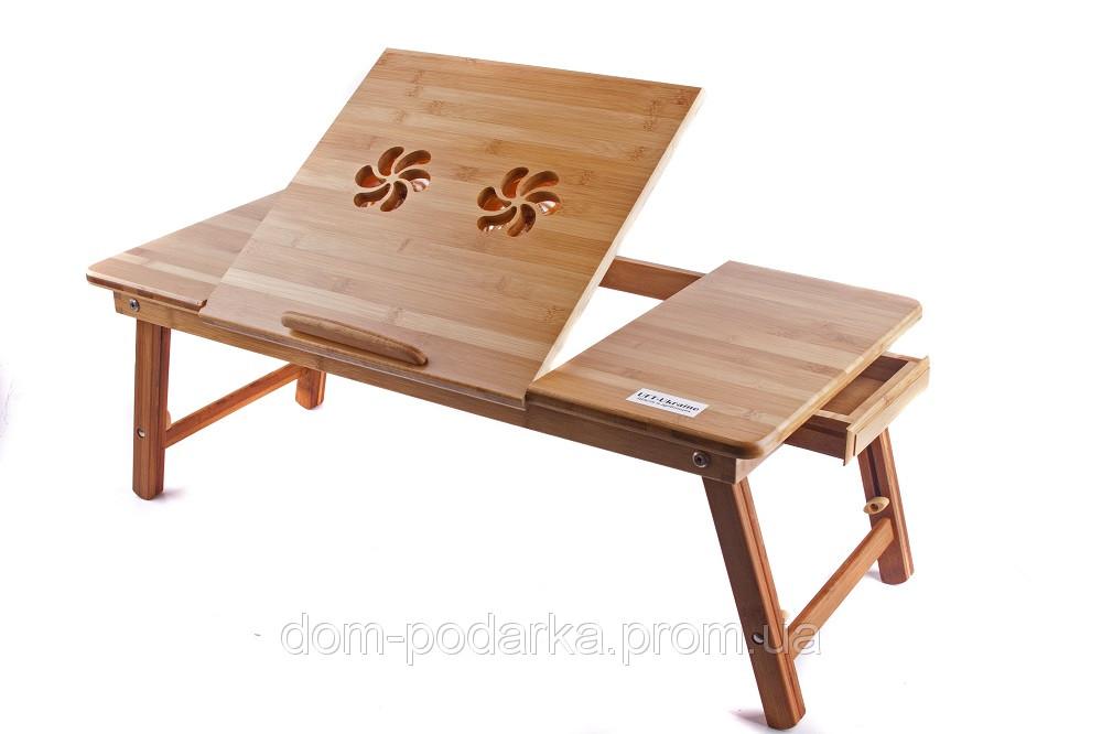 Столик для ноутбука бамбуковый UFT Т13