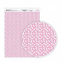 """Бумага дизайнерская """"Вaby girl"""", 21х29,7 см , односторонняя, плотность 250 г/м2"""