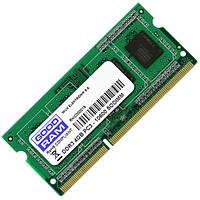 Модуль памяти для ноутбука GOODRAM SO-DIMM 4GB/1600 МГц DDR3 (GR1600S364L11S/4G) операвивная память оперативка