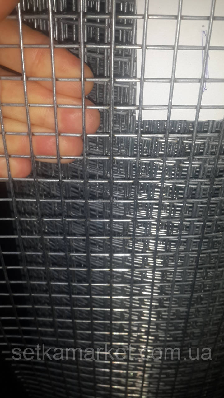 Сетка сварная оцинкованная, Ячейка 12х12 мм. Диаметр 1,6 мм.