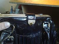 Ремонт застежки в сумке