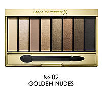 MF Masterpiece Nude Palette N02 Golden Nudes - Палетка теней для глаз, 6.5 г