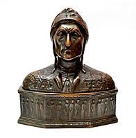 Антикварная скульптура Данте Алигьери, Европа, Бронза, 1920 года