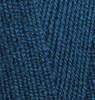 Пряжа Лана голд 800 Lanagold 800 Alize, № 155, т. бирюзовый