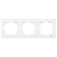 Рамка тройная горизонтальная белая VIKO KARRE 90960202