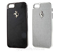 Чехол для iPhone 5/5S - Ferrari Carbon cover