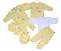 Набор одежды для новорожденной 7 предметов розовый тм Бэмби KP9 р.56 розовый