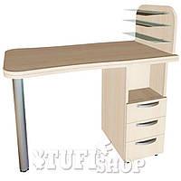 Маникюрный стол Ника (000253) - бежевый