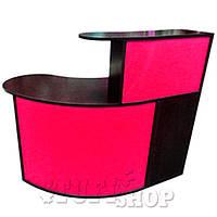 Стойка администратора СА-06 (000226) - черный с розовым