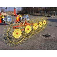 Грабли ворошилки усиленные Inventor,Mokobodu 5 колес,Польша