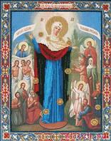 Икона всех скорбящих радостей вышивка бисером